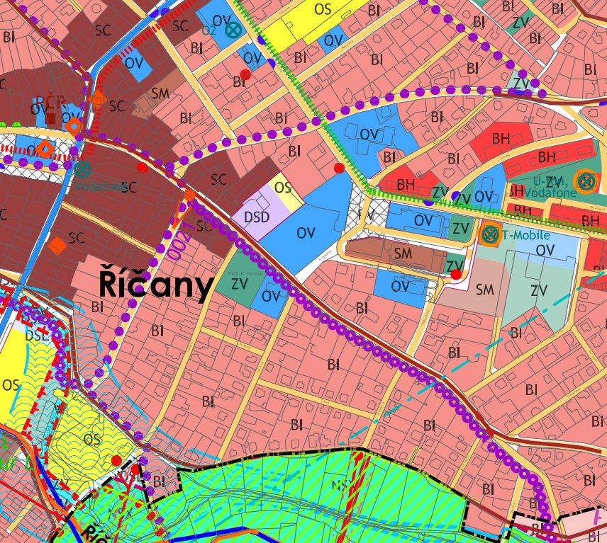 ukázka územního plánu